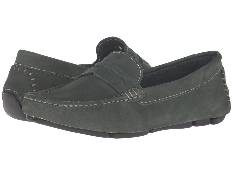 Massimo Matteo - Penny Keeper (Military Green) Womens Moccasin Shoes