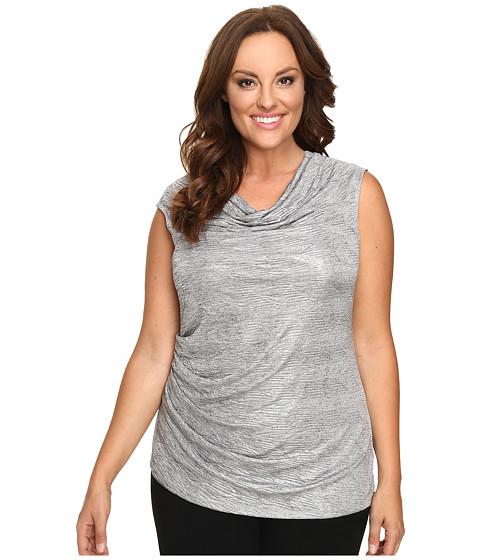 Calvin Klein Plus Plus Size Sleeveless Metallic Top