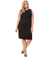 Calvin Klein Plus - Plus Size Sheath w/ Zipper at Shoulder