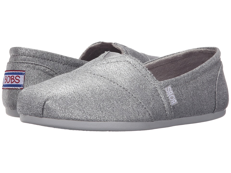 BOBS from SKECHERS Bobs Plush Shimmerz (Gray) Women