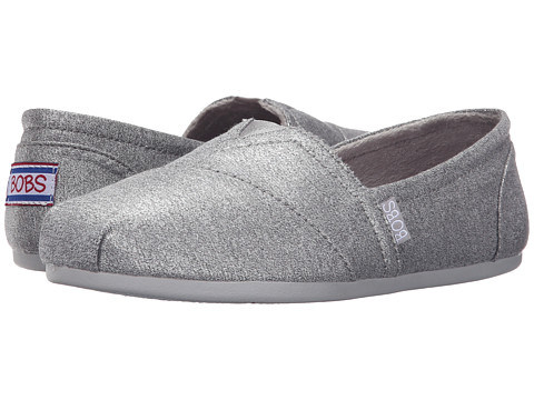 BOBS from SKECHERS Bobs Plush - Shimmerz - Gray