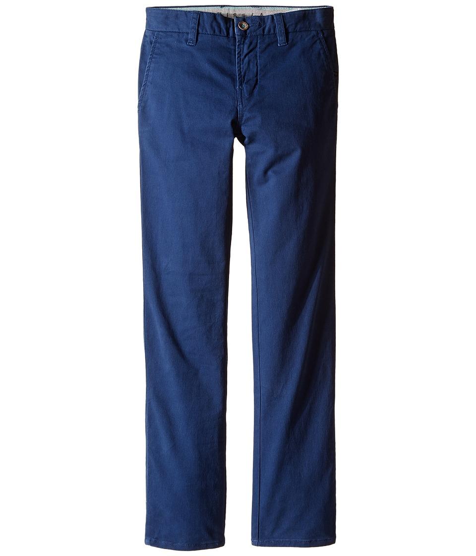 VISSLA Kids - High Tider Pants Slim Fit Stretch Twill 28