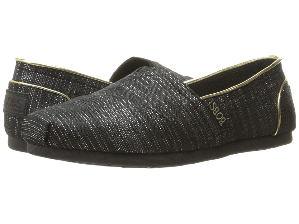 BOBS from SKECHERS Luxe Bobs Festivities (Black) Women