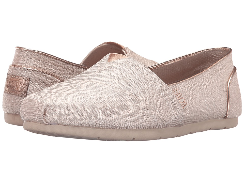 BOBS from SKECHERS Luxe Bobs Festivities (Rose Gold) Women