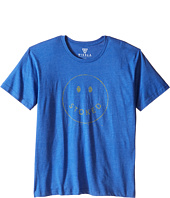 VISSLA Kids - Stoked Heathered 30 Singles Short Sleeve Tee (Big Kids)