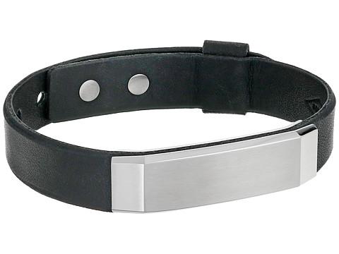 Fossil Steel Bracelet - Silver/Black