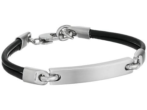 Fossil Steel Bracelet - Silver/Black 1