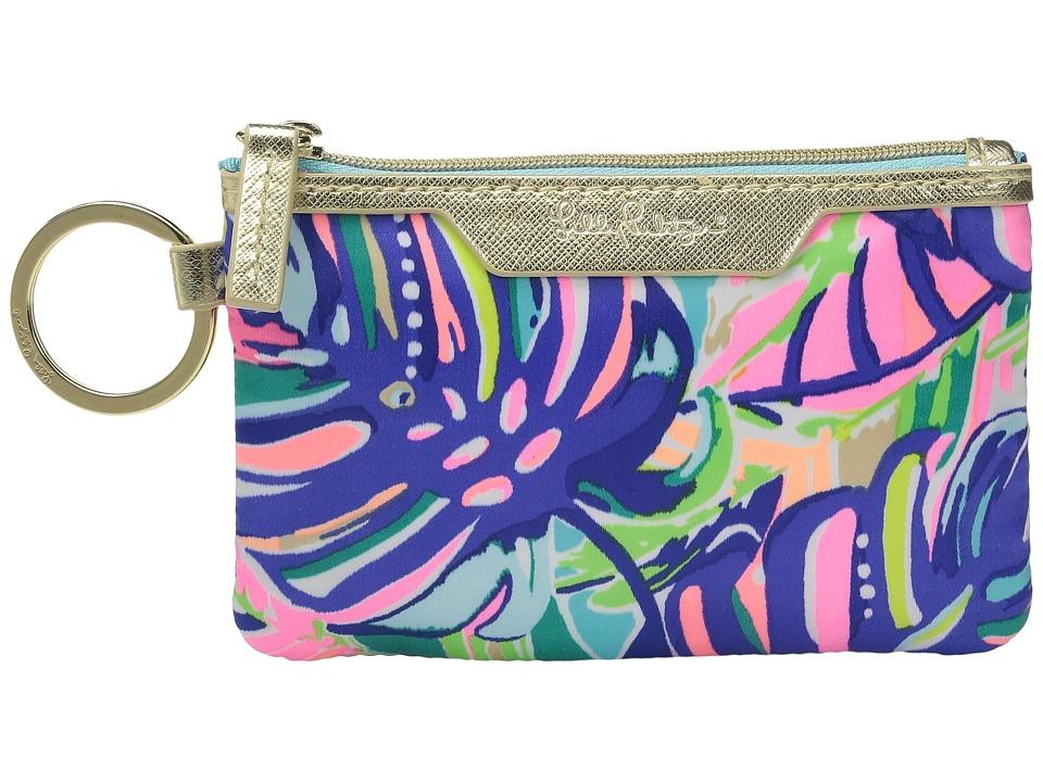 Lilly Pulitzer - Key ID Case (Multi Exotic Garden) Wallet