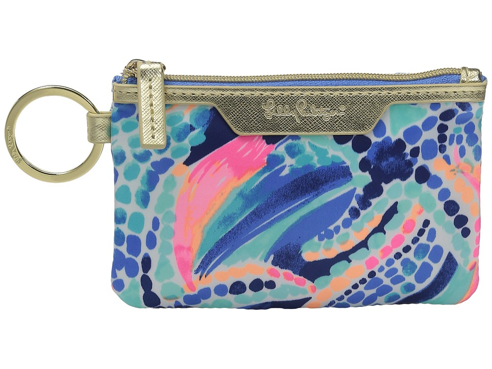 Lilly Pulitzer - Key ID Case (Multi Ocean Jewels) Wallet
