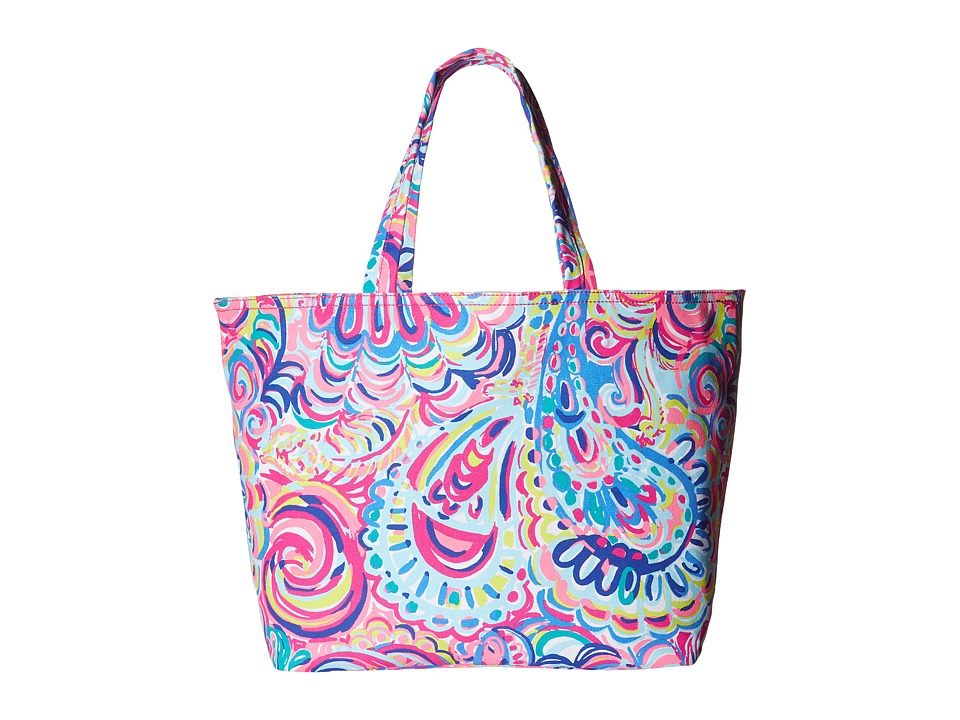 Lilly Pulitzer - Palm Beach Tote (Multi Psychedelic Sun) Tote Handbags