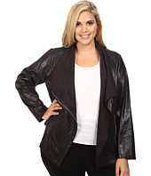 Calvin Klein Plus - Plus Size Distressed Flyaway Jacket