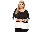 Calvin Klein Plus Plus Size 3/4 Sleeve Dolman Top