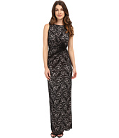 Calvin Klein - Lace Side Twist Gown