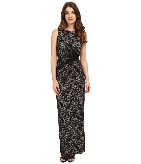 Calvin Klein Lace Side Twist Gown