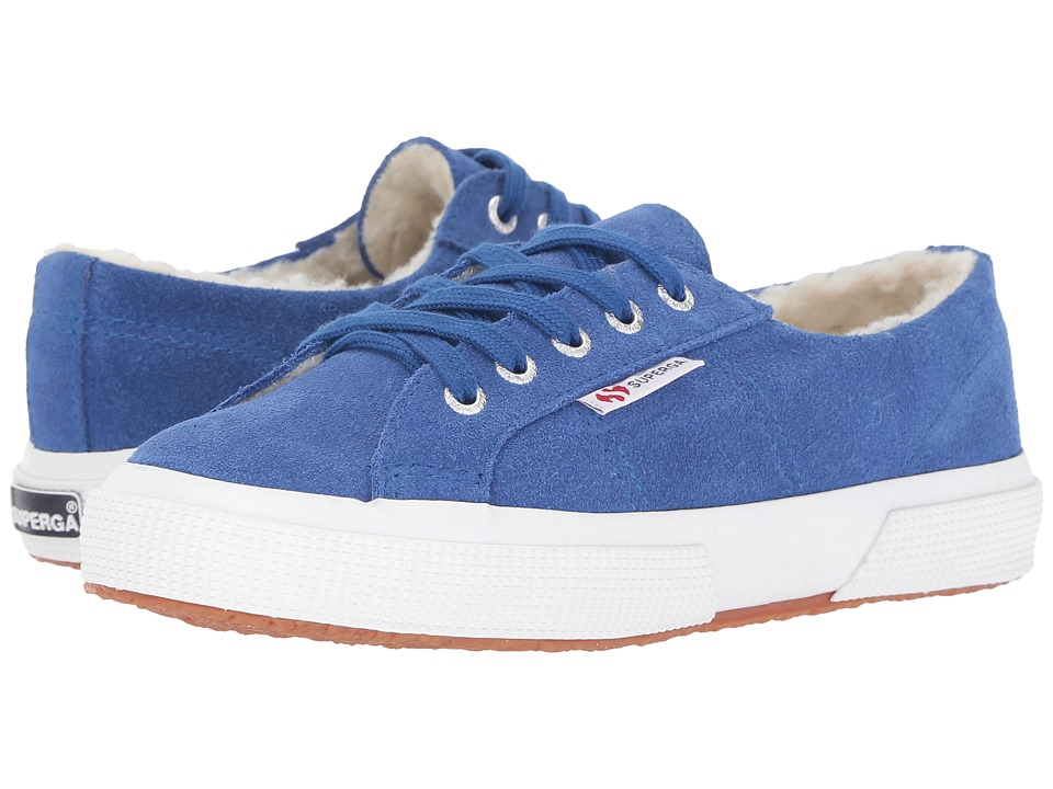 Superga Kids - 2750 SUEBINJ (Infant/Toddler/Little Kid/Big Kid) (Royal Blue Marine) Kid