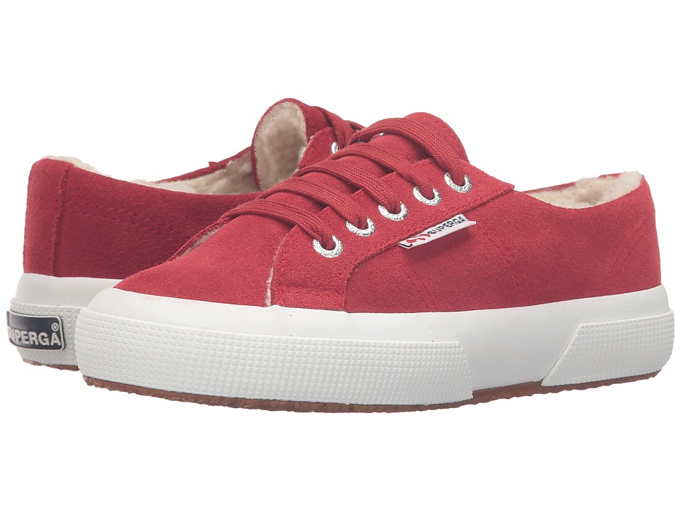 Superga Kids - 2750 SUEBINJ (Infant/Toddler/Little Kid/Big Kid) (Red Dark Scarlet) Kid