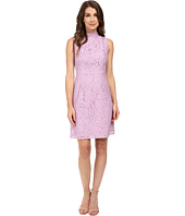 Adrianna Papell - A-Line Mock Neck Juliet Lace Dress