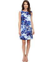 Adrianna Papell - Printed Faille Simple Shift Dress