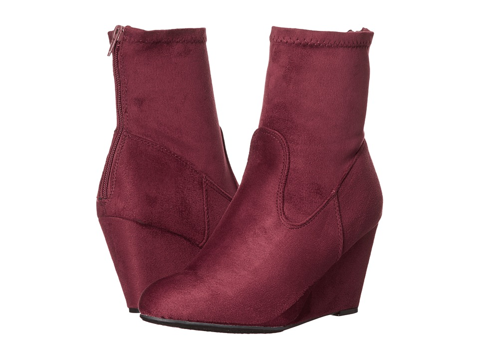 Chinese Laundry - Upscale (Merlot Suedette) Women