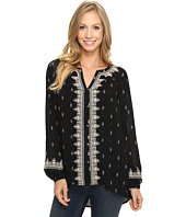 Lucky Brand - Ditsy Embroidered Top