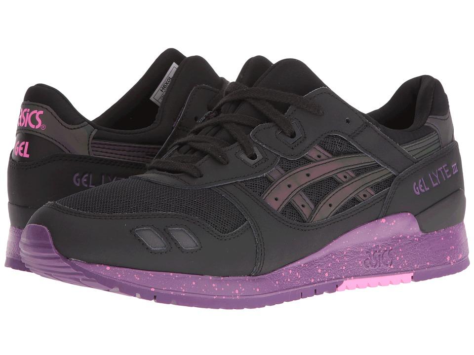 ASICS Tiger - Gel-Lyte III (Black/Black) Athletic Shoes
