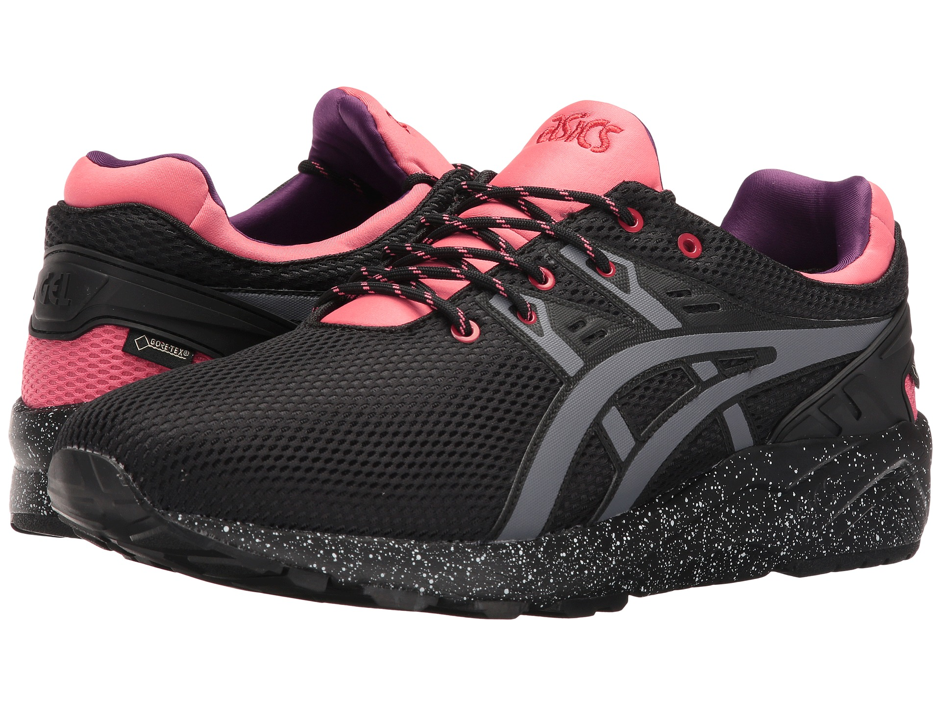 asics tiger gel kayano trainer evo g tx black grey free shipping both ways. Black Bedroom Furniture Sets. Home Design Ideas