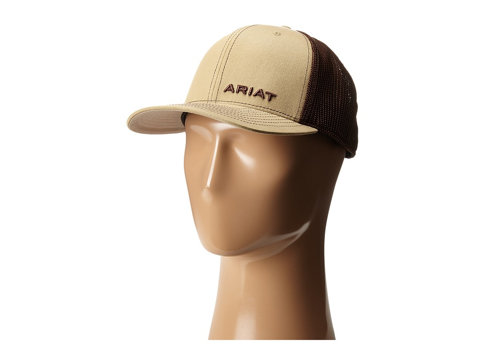 Ariat 1596708 Tan Cowboy Hats
