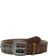 Ariat - Cross Concho Calf Hair Belt