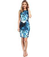 Adrianna Papell - Placed Print Sheath Dress