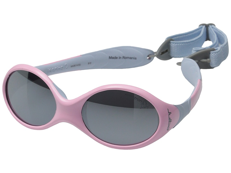 Julbo Eyewear Kids Looping II X6 Little Kids Rose Bleu Athletic Performance Sport Sunglasses