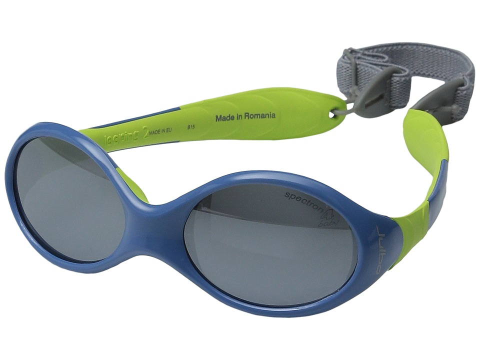 Julbo Eyewear Kids Looping II X6 Little Kids Blue/Anise Athletic Performance Sport Sunglasses