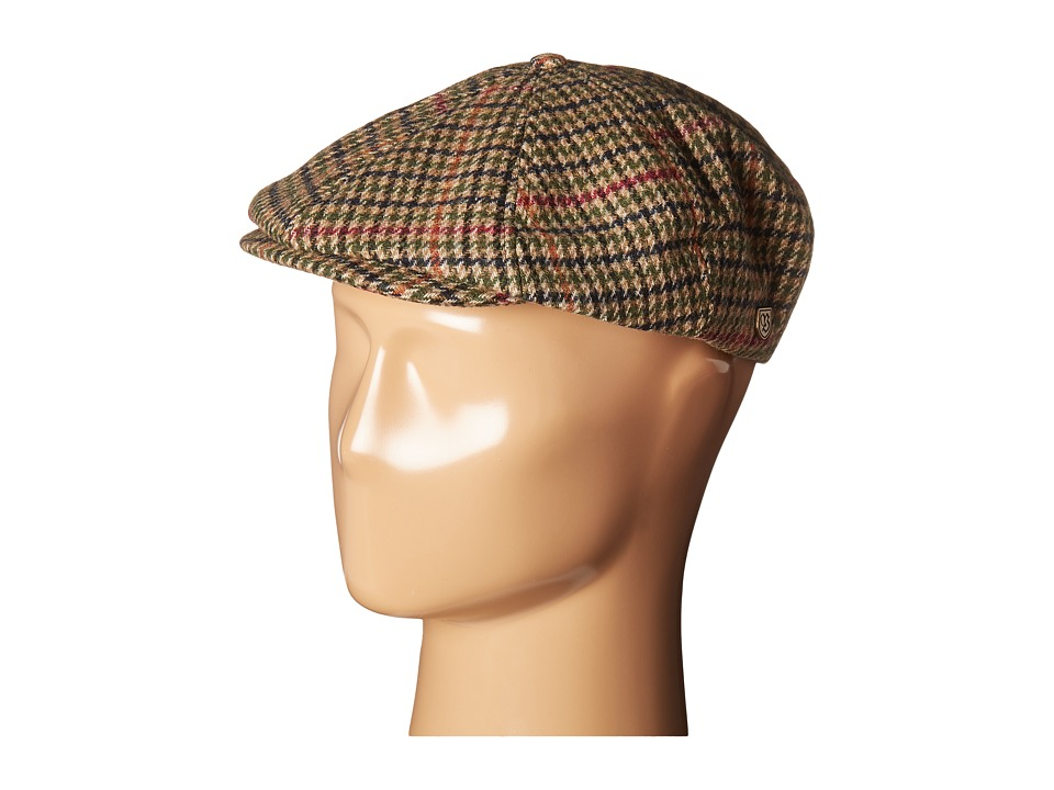 Men's Vintage Style Hats Brixton - Brood Snap Cap TanBronze Caps $34.00 AT vintagedancer.com