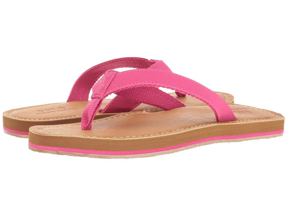 Polo Ralph Lauren Kids Lia (Big Kid) (Fuchsia Sportbuck) Girl's Shoes