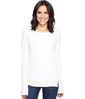 Brigitte Bailey - Keely Long Sleeve Top with Front Slits