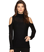 Brigitte Bailey - Caressa Ribbed Cold Shoulder Sweater