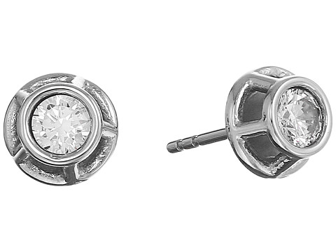 Fossil Iconic Glitz Studs Earrings - Silver