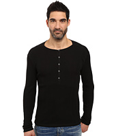John Varvatos Star U.S.A. - Long Sleeve Button-Front Henley K2319S3B