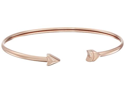 Fossil Arrow Flex Bangle - Rose Gold