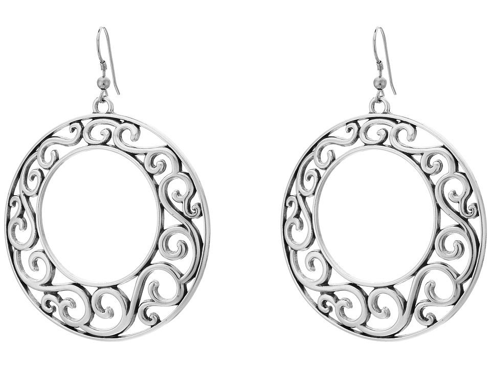 MampF Western Filigree Hoop Earrings Silver Earring
