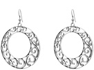 M&F Western Filigree Hoop Earrings