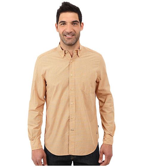 Nautica Long Sleeve Mini Plaid Shirt w/ Pocket