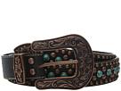M&F Western Nailhead and Turquoise Stone Belt