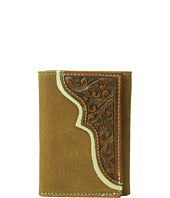M&F Western - Tooled Trifold Wallet