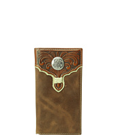 M&F Western - Embossed with Round Concho Rodeo Wallet