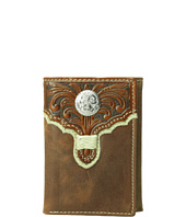 M&F Western - Embossed with Round Concho Trifold