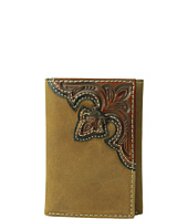 M&F Western - Embossed Corner Trifold Wallet