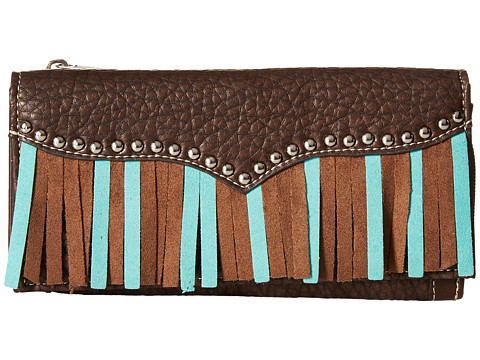 M&F Western Jolie Wallet - Brown