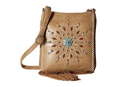 M&F Western Stella Messenger Bag - Tan