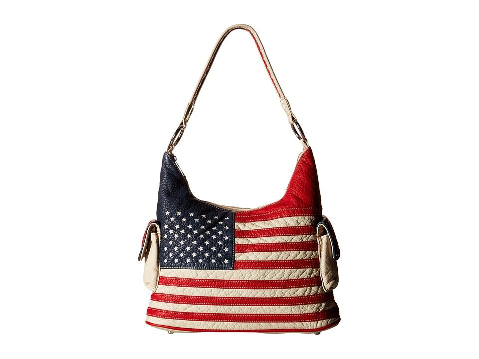 MampF Western Americana Bucket Bag Multi Bags