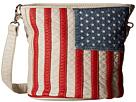 M&F Western Americana Slim Bucket Bag